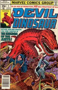 Cover Thumbnail for Devil Dinosaur (Marvel, 1978 series) #5