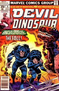 Cover Thumbnail for Devil Dinosaur (Marvel, 1978 series) #6