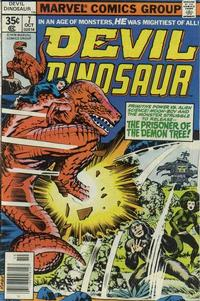 Cover Thumbnail for Devil Dinosaur (Marvel, 1978 series) #7