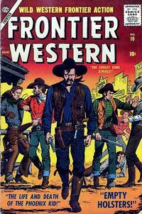 Cover Thumbnail for Frontier Western (Marvel, 1956 series) #10
