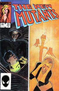 Cover Thumbnail for The New Mutants (Marvel, 1983 series) #23 [direct]