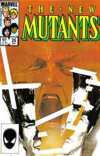 Cover Thumbnail for The New Mutants (Marvel, 1983 series) #26