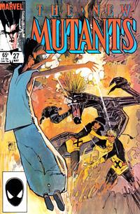 Cover Thumbnail for The New Mutants (Marvel, 1983 series) #27 [direct]