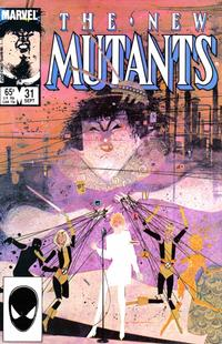 Cover Thumbnail for The New Mutants (Marvel, 1983 series) #31