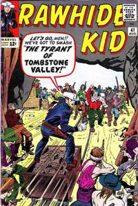 Cover Thumbnail for The Rawhide Kid (Marvel, 1960 series) #41