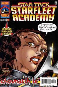 Cover Thumbnail for Star Trek: Starfleet Academy (Marvel, 1996 series) #18 [Klingon]