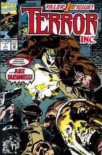 Cover for Terror Inc. (Marvel, 1992 series) #1