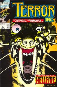 Cover Thumbnail for Terror Inc. (Marvel, 1992 series) #2