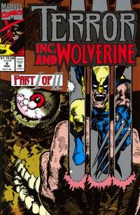 Cover for Terror Inc. (Marvel, 1992 series) #9