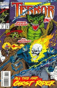 Cover for Terror Inc. (Marvel, 1992 series) #13