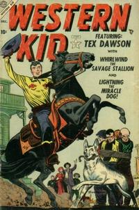 Cover Thumbnail for Western Kid (Marvel, 1954 series) #1