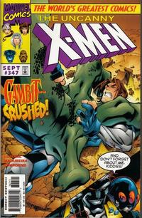 Cover Thumbnail for The Uncanny X-Men (Marvel, 1981 series) #347 [Direct Edition]