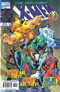 Cover Thumbnail for The Uncanny X-Men (Marvel, 1981 series) #360 [Direct Enhanced Edition]