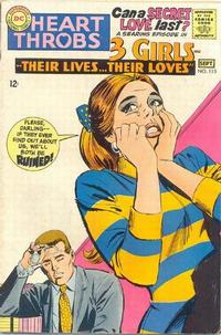Cover Thumbnail for Heart Throbs (DC, 1957 series) #115