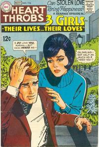 Cover Thumbnail for Heart Throbs (DC, 1957 series) #116
