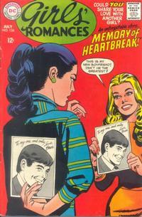 Cover Thumbnail for Girls' Romances (DC, 1950 series) #134