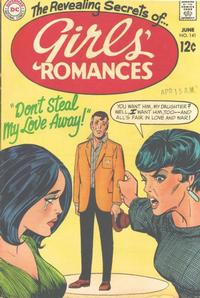 Cover Thumbnail for Girls' Romances (DC, 1950 series) #141