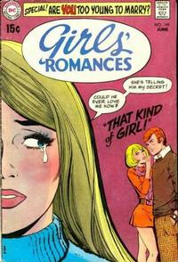 Cover Thumbnail for Girls' Romances (DC, 1950 series) #149
