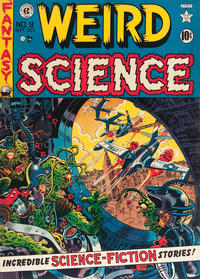 Cover Thumbnail for Weird Science (EC, 1951 series) #9