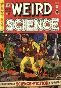 Cover Thumbnail for Weird Science (EC, 1951 series) #10
