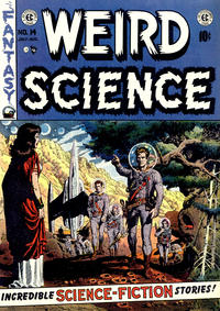 Cover Thumbnail for Weird Science (EC, 1951 series) #14