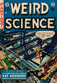 Cover Thumbnail for Weird Science (EC, 1951 series) #20