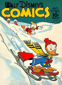 Cover Thumbnail for Walt Disney's Comics and Stories (Dell, 1940 series) #v2#5 [17]