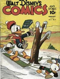 Cover Thumbnail for Walt Disney's Comics and Stories (Dell, 1940 series) #v3#5 (29)