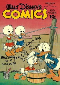 Cover Thumbnail for Walt Disney's Comics and Stories (Dell, 1940 series) #v7#5 (77)