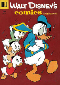 Cover Thumbnail for Walt Disney's Comics and Stories (Dell, 1940 series) #v16#4 (184)