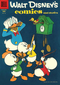 Cover Thumbnail for Walt Disney's Comics and Stories (Dell, 1940 series) #v17#2 (194)