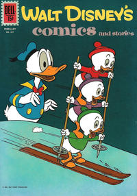 Cover Thumbnail for Walt Disney's Comics and Stories (Dell, 1940 series) #v22#5 (257)