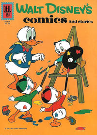 Cover Thumbnail for Walt Disney's Comics and Stories (Dell, 1940 series) #v22#6 (258)