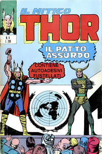 Cover Thumbnail for Il Mitico Thor (Editoriale Corno, 1971 series) #4