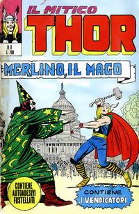 Cover Thumbnail for Il Mitico Thor (Editoriale Corno, 1971 series) #6