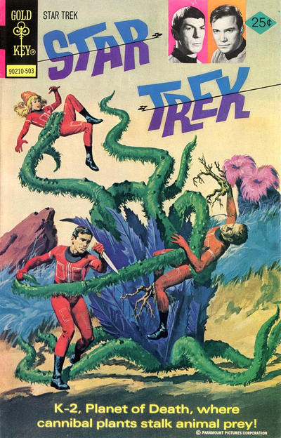 Cover for Star Trek (Western, 1967 series) #29
