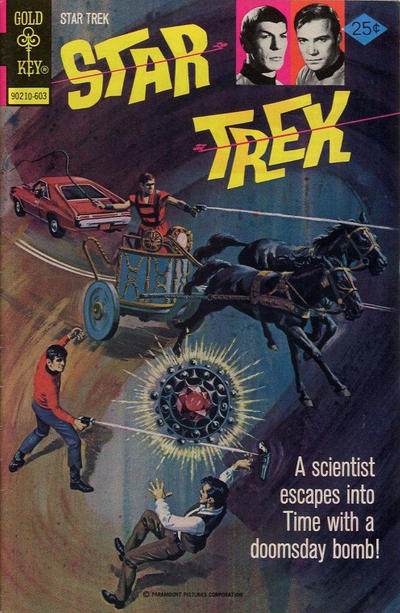 Cover for Star Trek (Western, 1967 series) #36