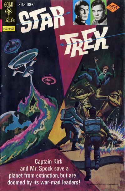 Cover for Star Trek (Western, 1967 series) #37