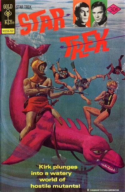 Cover for Star Trek (Western, 1967 series) #43