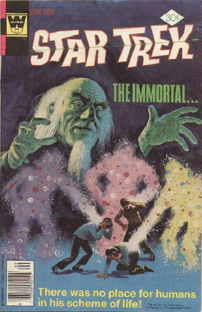 Cover for Star Trek (Western, 1967 series) #47 [Gold Key Variant]