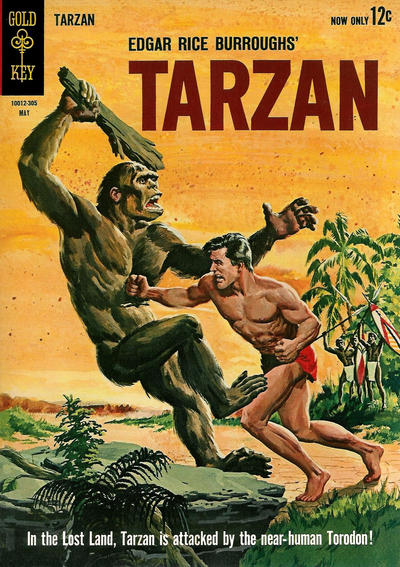 Cover for Edgar Rice Burroughs' Tarzan of the Apes (Western, 1962 series) #135