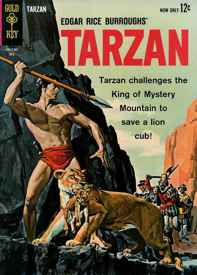 Cover for Edgar Rice Burroughs' Tarzan of the Apes (Western, 1962 series) #136