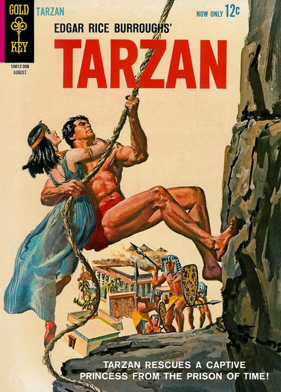 Cover for Edgar Rice Burroughs' Tarzan of the Apes (Western, 1962 series) #137