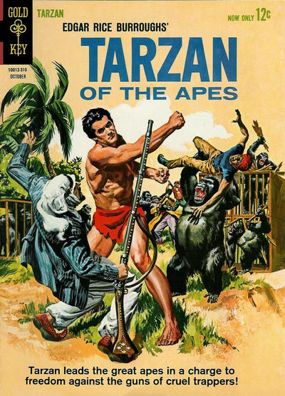 Cover for Edgar Rice Burroughs' Tarzan of the Apes (Western, 1962 series) #138