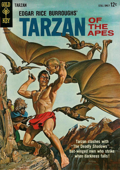 Cover for Edgar Rice Burroughs' Tarzan of the Apes (Western, 1962 series) #140