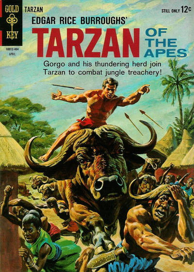 Cover for Edgar Rice Burroughs' Tarzan of the Apes (Western, 1962 series) #141
