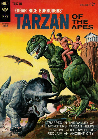 Cover for Edgar Rice Burroughs' Tarzan of the Apes (Western, 1962 series) #146