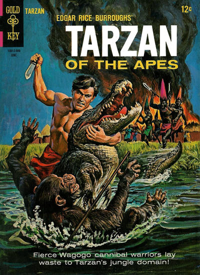 Cover for Edgar Rice Burroughs' Tarzan of the Apes (Western, 1962 series) #150