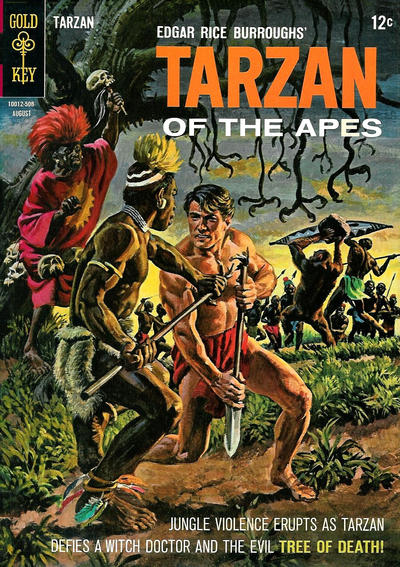 Cover for Edgar Rice Burroughs' Tarzan of the Apes (Western, 1962 series) #151