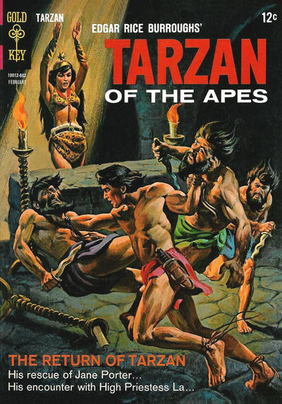 Cover for Edgar Rice Burroughs' Tarzan of the Apes (Western, 1962 series) #156